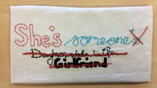 Sewing work in Year 9